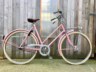 roze margo retro damesfiets